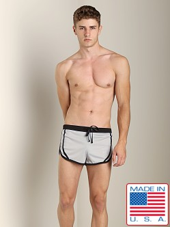 N2N Sport Split Short Grey