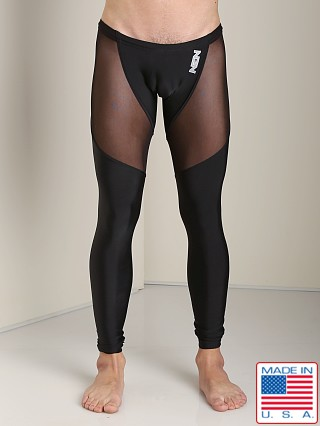N2N Bodywear Sheer Skin Runner Black