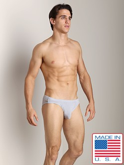 N2N Lounge Brief Iced Silver