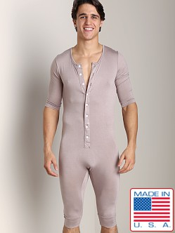 N2N Lounge Men's Onesie Iced Mocha
