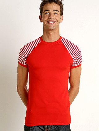 Complete the look: Modus Vivendi Marine T-Shirt Red