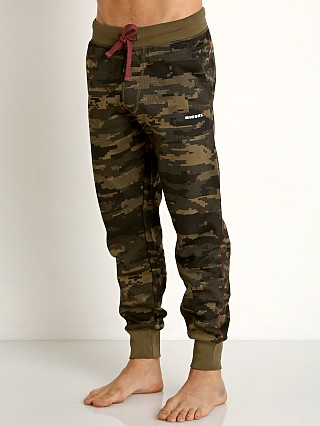 Diesel Peter Lounge Pants Olive Camo