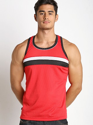 Jack Adams Air Track Tank Top Red