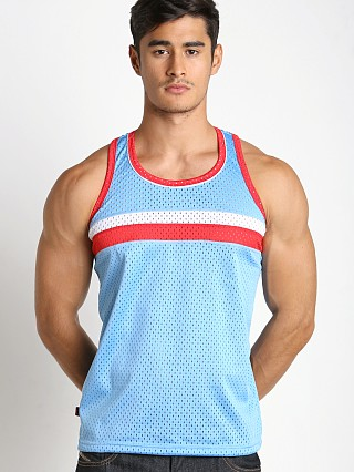 Jack Adams Air Track Tank Top Sky