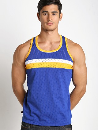 Jack Adams Air Track Tank Top Royal