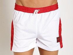Jack Adams Air-14 Gym Short White/Red