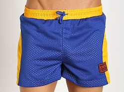 Jack Adams Air-14 Gym Short Blue/Yellow