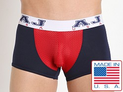 American Jock Compete Trunk Navy/Red
