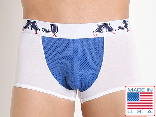 American Jock Compete Trunk White/Royal