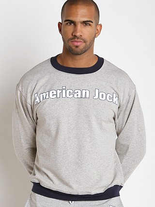 Complete the look: American Jock Warm-Up Sweatshirt Heather/Navy