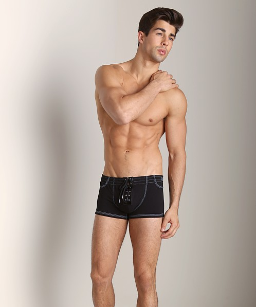 Modus Vivendi Denim Style Trunk Black