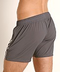 Nasty Pig Takeoff Rugby Short Grey, view 4