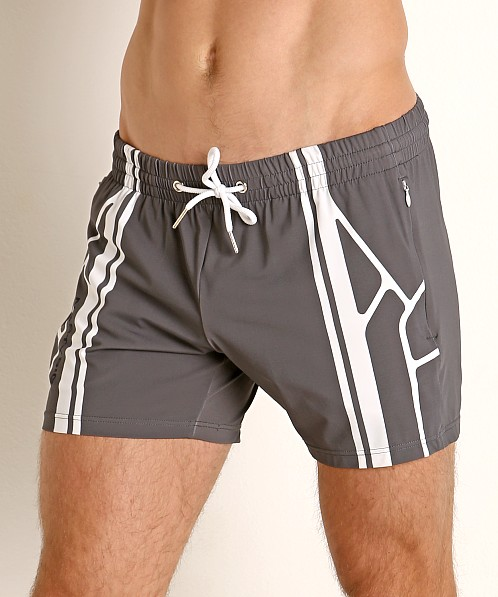 Nasty Pig Takeoff Rugby Short Grey