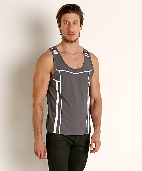 Nasty Pig Takeoff Rugby Tank Top Grey