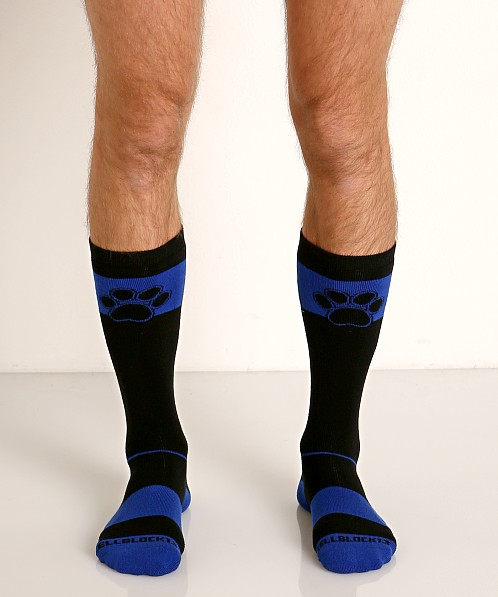 Cell Block 13 Kennel Club Alpha Knee Socks Blue