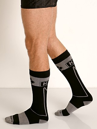 Cell Block 13 Kennel Club Alpha Knee Socks Grey