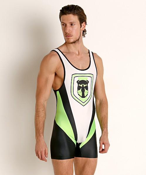 Cell Block 13 Kennel Club Singlet Green