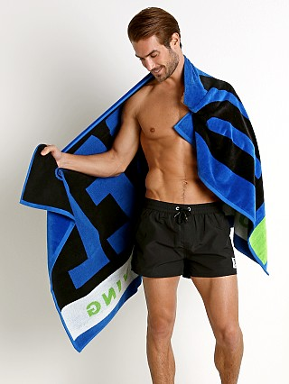 Diesel Helleri Beach Towel Royal Blue
