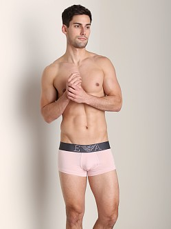 Emporio Armani Basic Stretch Cotton Trunk Pale Pink