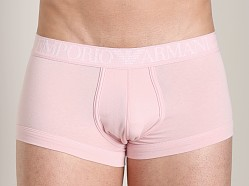 Emporio Armani Coloured Stretch Cotton Trunk Pale Pink