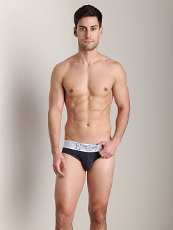 Emporio Armani Basic Stretch Cotton Brief Marine