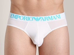 Emporio Armani Basic Microfiber Brief White