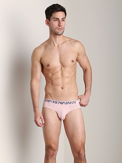 Emporio Armani Basic Microfiber Brief Pale Pink