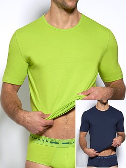 C-IN2 Baseflex Crew Neck Shirt 2-Pack Glow Stick & Vodoo