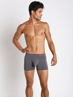 John Sievers HIGHLITE Natural Pouch Boxer Briefs Steel Grey