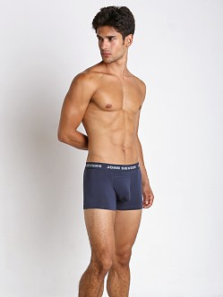John Sievers SOLID Natural Pouch Boxer Briefs Navy