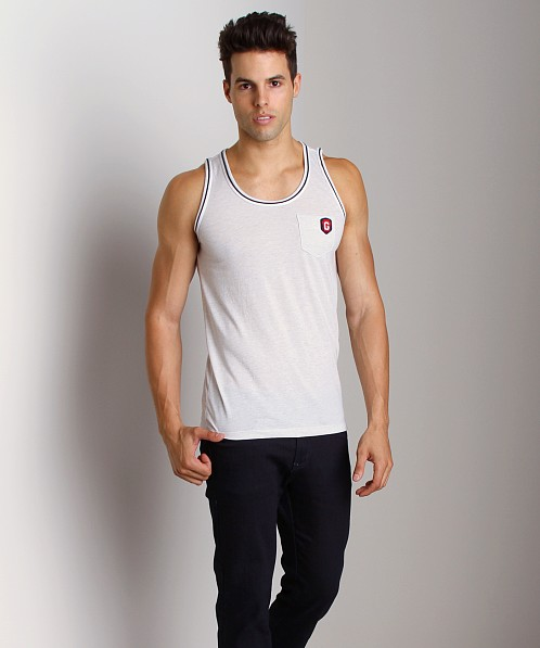 G-Star Porter Deep R Tank Top White