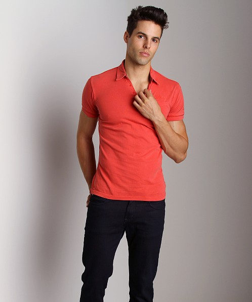 G-Star Caleb Polo Shirt Ketchup