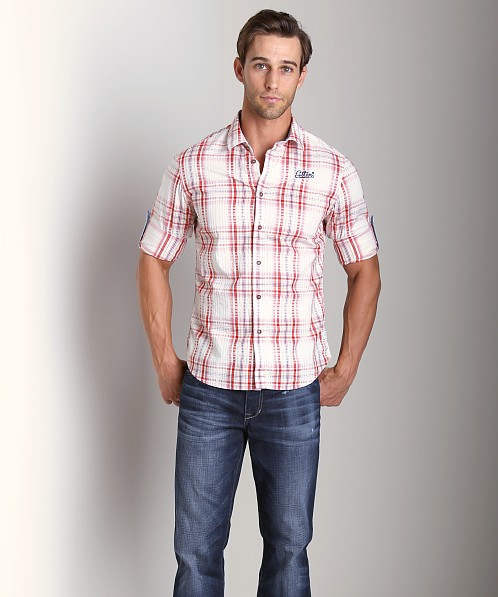 G-Star Rider Roll-Up Shirt Pompeian Red