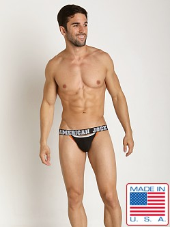 American Jock Aktivo Jock Strap Black/Orange
