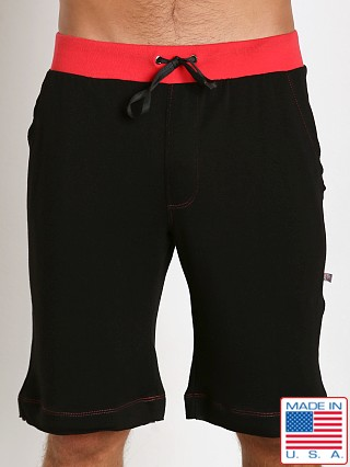 American Jock Fitness Taylor Short Black/Red