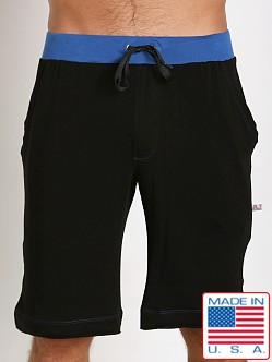 American Jock Fitness Taylor Short Black/Royal