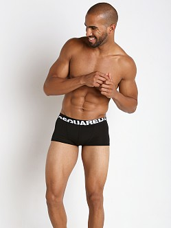 DSQUARED Micromodal Trunk Black