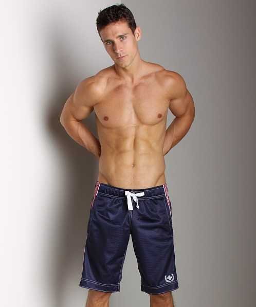 Andrew Christian Division Shorts Navy