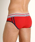 Jack Adams Air Pack Up Pouch Brief Red, view 4