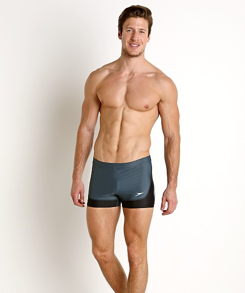 Speedo Rush Square Leg Halo Bue