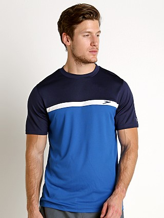 Speedo Colorblock Sun Block Swim Tee Classic Blue