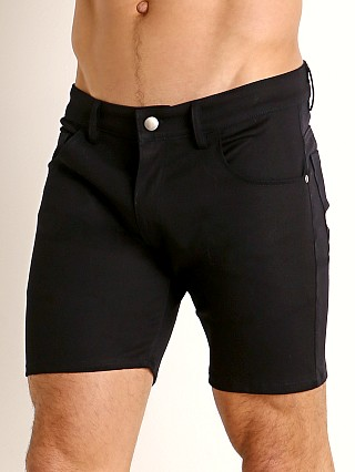 Complete the look: LASC Cotton Twill 5-Pocket Shorts Navy