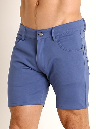 You may also like: LASC Stretch Jersey 5-Pocket Shorts Denim
