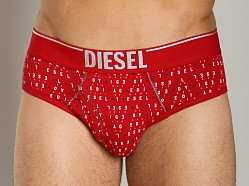 Diesel Holiday Blade Brief Red