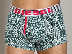 Diesel Sweater Motif Darius Trunk Green