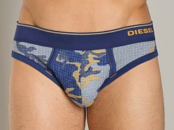 Diesel Camo Mathias Brief Blue