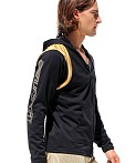 Rufskin Avalanche Hooded Sports Jacket Black, view 3