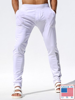 Rufskin Frost Slim Fit Track Pants White