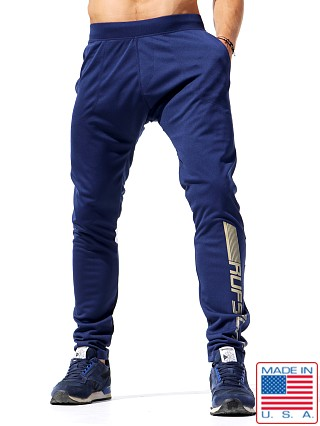 Rufskin Frost Slim Fit Track Pants Navy