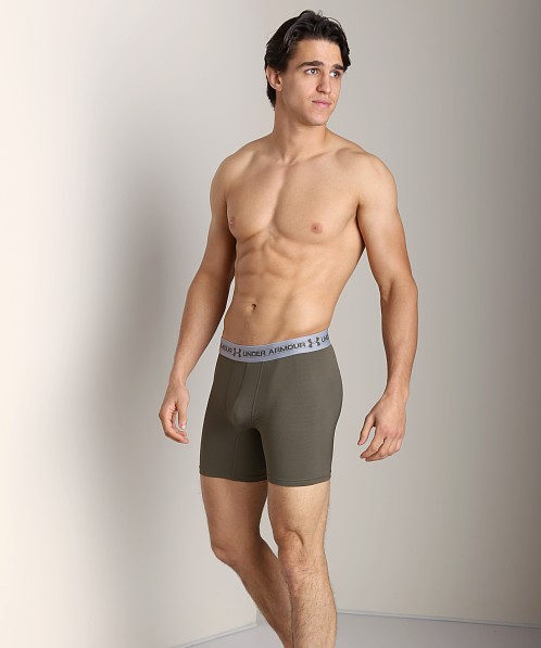 "Under Armour UA Mesh 6"" BoxerJock Rough"